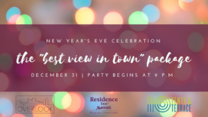 Downtown Raleigh New Year's Eve Rooftop Party Residence Inn 10th & Terrace