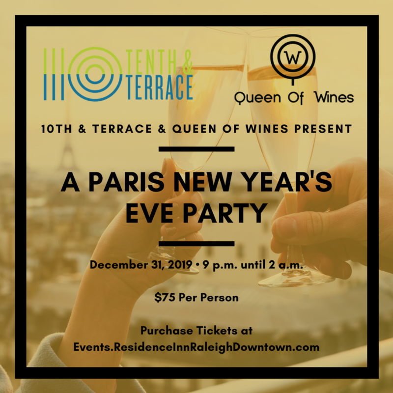 A Paris New Year's Eve Party at 10th & Terrace