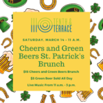 Cheers and Green Beers St. Patrick's Brunch
