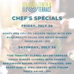 10th and Terrace July 24 Specials