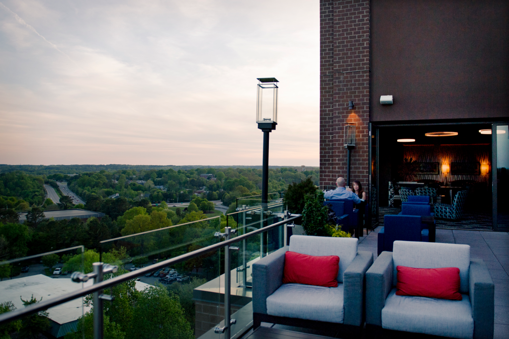Downtown Raleigh Rooftop Dining at 10th & Terrace