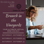 Brunch in the Vineyards With Queen of Wines and Residence Inn Raleigh Downtown
