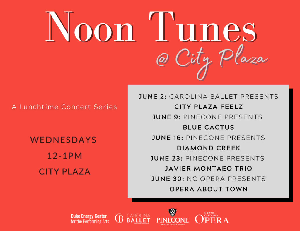 Noon Tunes Concert Series in Downtown Raleigh