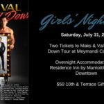 Girls' Night Out With Maks & Val and Residence Inn Raleigh Downtown