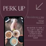 Residence Inn Raleigh Downtown Coffee Giveaway